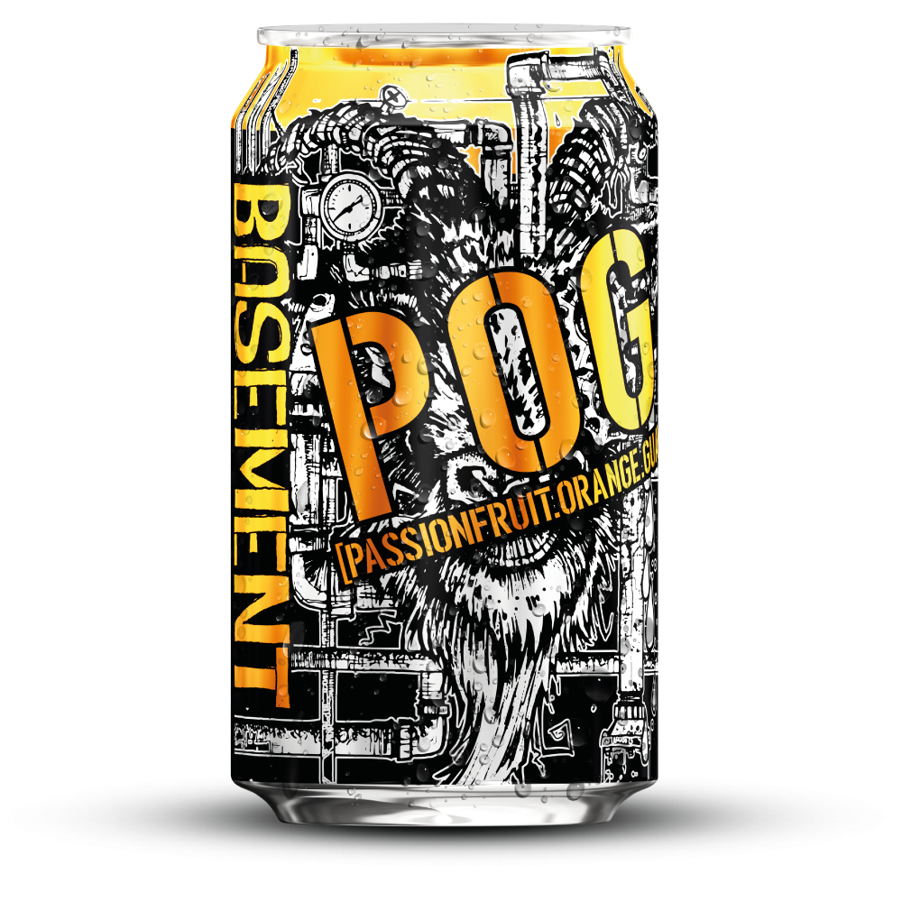 Scofflaw POG Basement IPA can